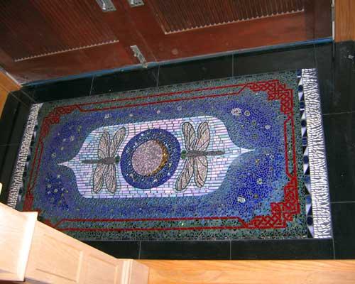 Augusta Ga This Dragonfly Mosaic Rug